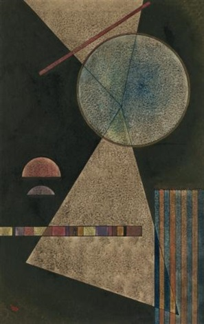treffpunkt (meeting-point) by wassily kandinsky