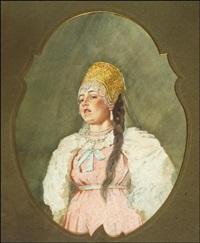 nuori nainen by viktor alekseevich bobrov