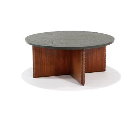 Coffee Table With Slate Top By Frank Lloyd Wright On Artnet