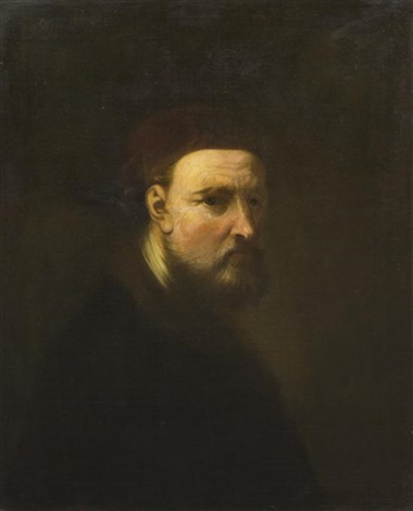 portrait of a man by ferdinand bol