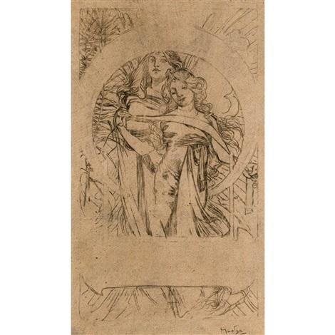 Les cloches de Noël by Alphonse Mucha on artnet