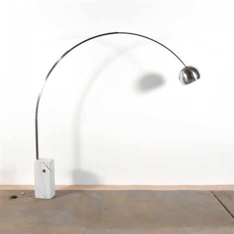 arco floor lamp by pier giacomo and achille castiglioni on artnet. Black Bedroom Furniture Sets. Home Design Ideas