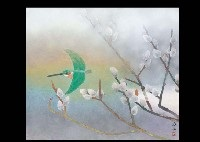 spring riverside by shunko mochizuki