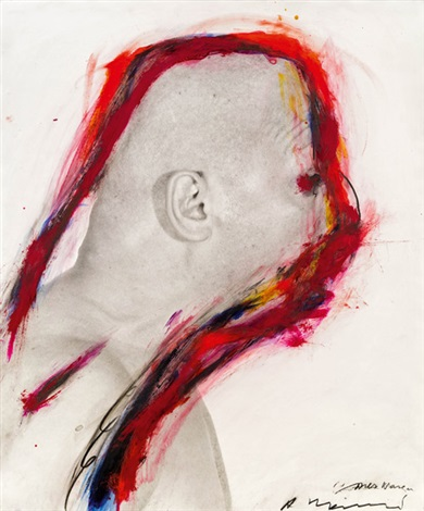 nies nase by arnulf rainer