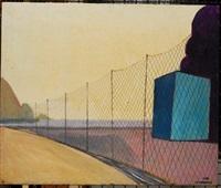 paesaggio con reti by adriano de laurentis