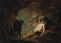 der barmherzige samariter by johann zick