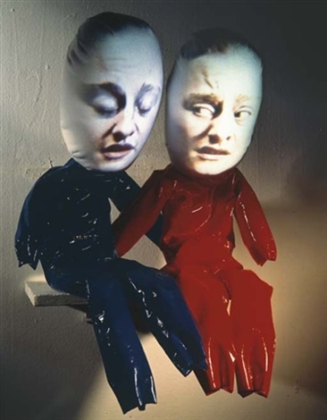 troubler (2 works) by tony oursler