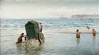 barnbad vid kusten by hamilton macallum