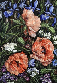 study of summer flowers by margaret jordan patterson