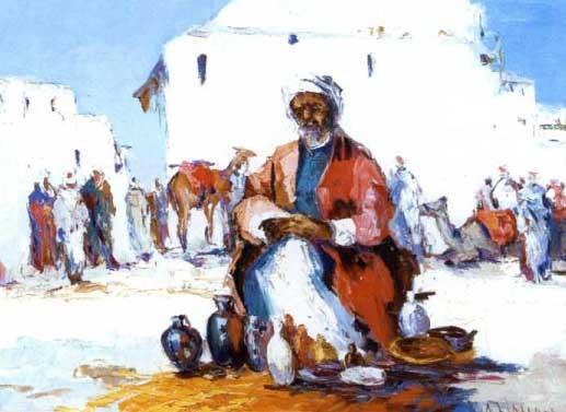 le marchand de porterie à fèz by alaloui hassan
