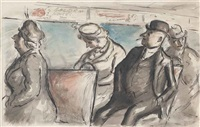 on the bus by edward ardizzone
