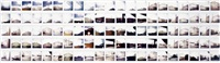 ohne titel (105 works mntd together) by tom burr