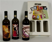 drink poem (in 4 parts) by lamberto pignotti