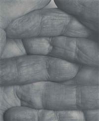 self portrait interlocking fingers, no 1 by john coplans