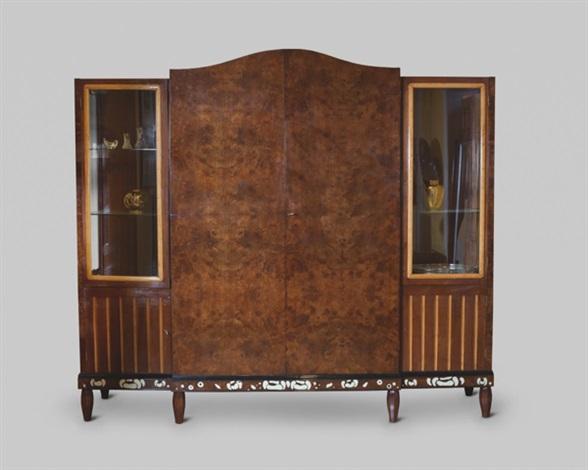 meuble vitrine by michel dufet