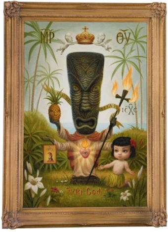 tiki god by mark ryden
