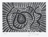 untitled (4 works) by jimmy pike