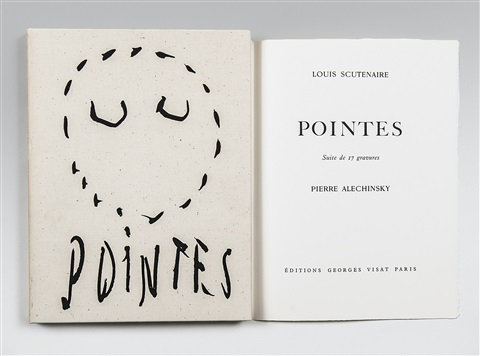pointes album w17 works by pierre alechinsky