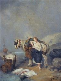 la marchande de poisson by ary scheffer