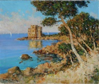 l'ile saint honorat by louis sola