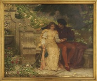 romeo and juliet in the garden by charles edward perugini