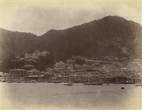 hong kong harbour (+ 13 others; 14 works) by lambert, gr. & co.