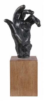 la main de pierre de wiessant by auguste rodin