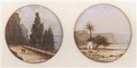cyprus landscape by alphonse j. gamotis