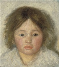 head of a child by susan hannah macdowell eakins