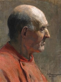 cabeza masculina by fernando alvarez de sotomayor y zaragoza