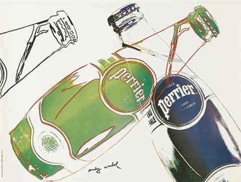 perrier by andy warhol