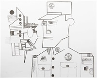 the general from the peace portfolio by saul steinberg