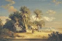 kairo von den anlagen des ibrahim pascha aus gesehen by august löffler