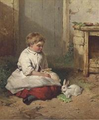 the pet rabbit by james cassie