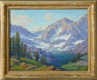 high sierras landscape by joseph p. frey