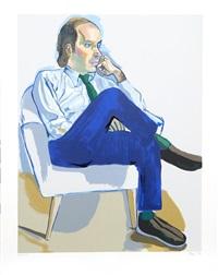 portrait of marsden hartley by alice neel