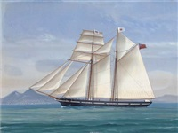 the english topsail schooner