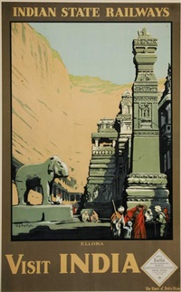 visit india - ellora by william spencer bagdatopolous