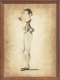 caricatura by telemaco signorini