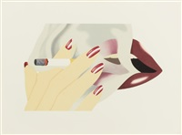 smoker by tom wesselmann