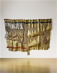 paths to the okro farm by el anatsui