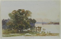 mangroves, parramatta river at ermington by william charles piguenit