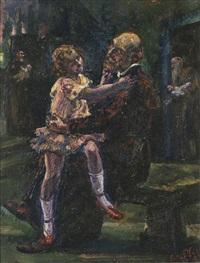 el franciscano y la niña by luis vigil
