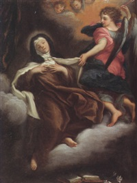 the ecstasy of saint teresa by michelangelo cerruti