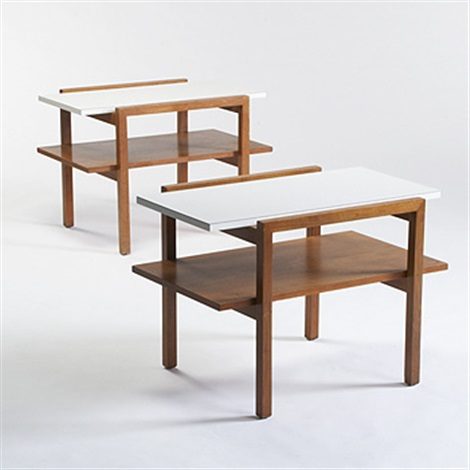 Super Side Tables Pair By Greta Magnusson Grossman On Artnet Gmtry Best Dining Table And Chair Ideas Images Gmtryco