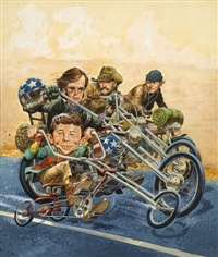 mad, sleazy riders by jack davis