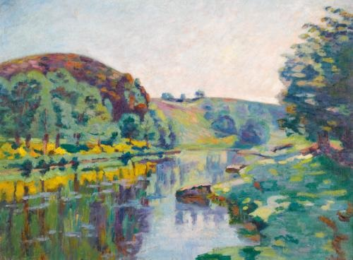 la roche de lecho by armand guillaumin
