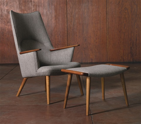 Delicieux Two Easy Chairs With Ottomans, Model No. Ap27 By Hans J. Wegner
