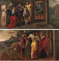 tobias y el arcangel rafael (pair) by spanish school-cordobesa (17)