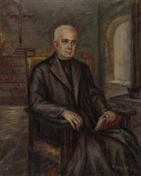 retrato de religioso by manuel abelenda